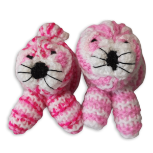 Bagpuss Knitted Toy