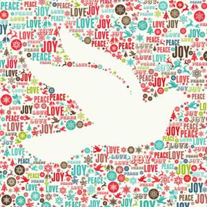 Dove with Peace and Joy
